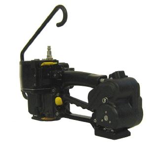 分享一款适合曲面,接口长度短气动塑钢带打捆机P380